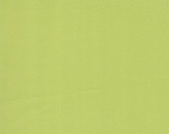 Pistachio - 9900-134 - Bella Solid Fabric by Moda Fabrics - Works with Spring House -1 yard