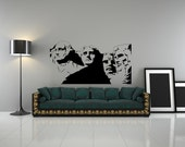 Mount Rushmore, George Washington, Abraham Lincoln, Thomas Jefferson - Vinyl Decal, Decor, Vinyl Sticker, Wall, Home, Office, Dorm Decor