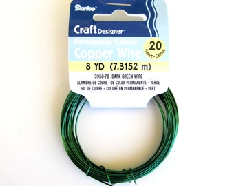 artistic wire 20 gauge green crafting supplies chain maille