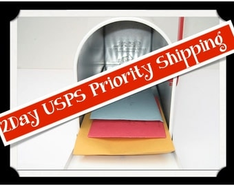Faster USPS Priority Mail Shipping Upgrade - Domestic US Delivery Only