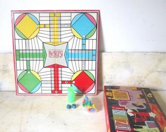 NOS Vintage PaChizsi Game Vintage Game Board Gift Childrens Game Home Decor Media Game Room