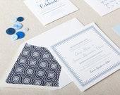 Nautical Wedding Stationery. Blue Beach Wedding Invites. Classic Blue Wedding Invitations. Nautical Wedding Invites for the Beach Bride.