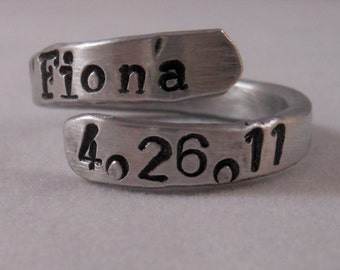 Personalized Double Rings