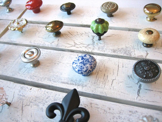 Customized Jewelry Rack--Design Your Own 4 Knob Rack