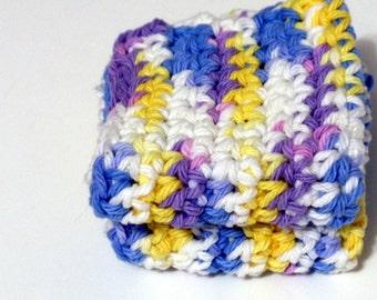 Crochet Spring Breeze Bath Cloth Dish Cloth Pot Holder Cotton