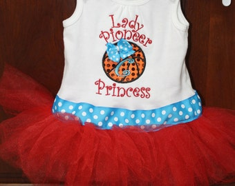 Team Basketball/Football/Soccer/ Baseball Tutu Princess Shirt with matching feather headband