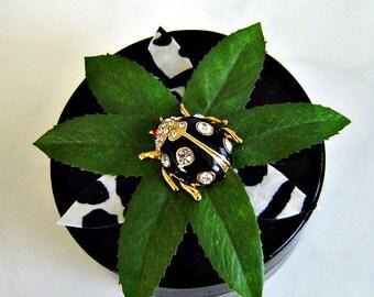 Jeweled Ladybug Decorative Box