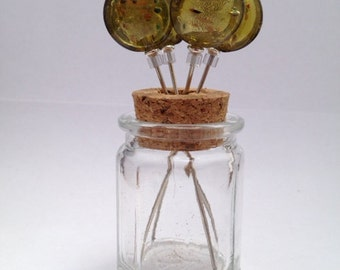 Tooth Pick Holders Octagonal