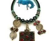 Afghan necklace pendants handmade