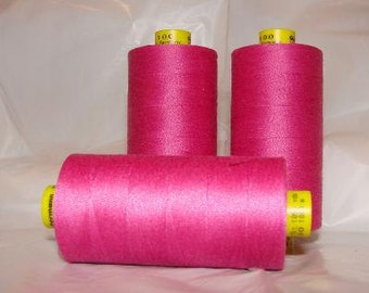 GUTERMANN Mara 100 Polyester Thread ONE (1) Spool 1,094yd 321 FUCHSIA
