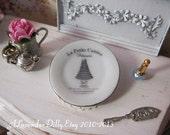 La Petite Cuisine Dollhouse Plate, 29 mm