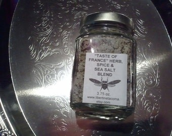 Taste of France Custom Gourmet Herb, Spice & Salt Blend