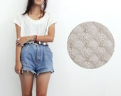 The Milk Thief - Cropped lace t-shirt