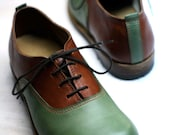 OXFORD SHOES Number 41,unique and exclusive pair,handmade welted shoes