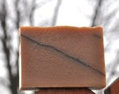 Earth Canary - Cedar & Saffron - Handmade Olive Oil Soap Bar Cold Process Natural Unisex Scent