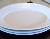 Antique Set of Three Large Oval McNicol China Serving Platters 1943