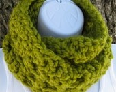 Crochet Cowl Pattern - Bulky Double Layer Cowl - PDF file - PATTERN ONLY