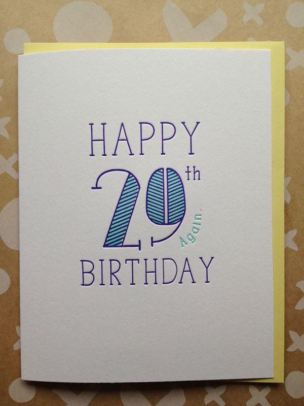 30th birthday card Etsy