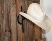 Horseshoe Cactus Cowboy Hat Rack