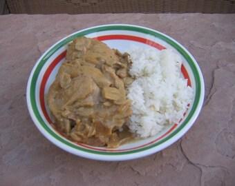 Chicken, Chicken Paprikash, Paprika Chicken, Recipe PDF