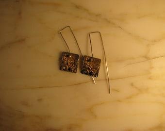 Fine Silver Earrings