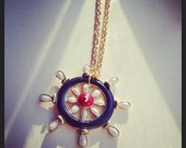 Vintage Sail Away Necklace