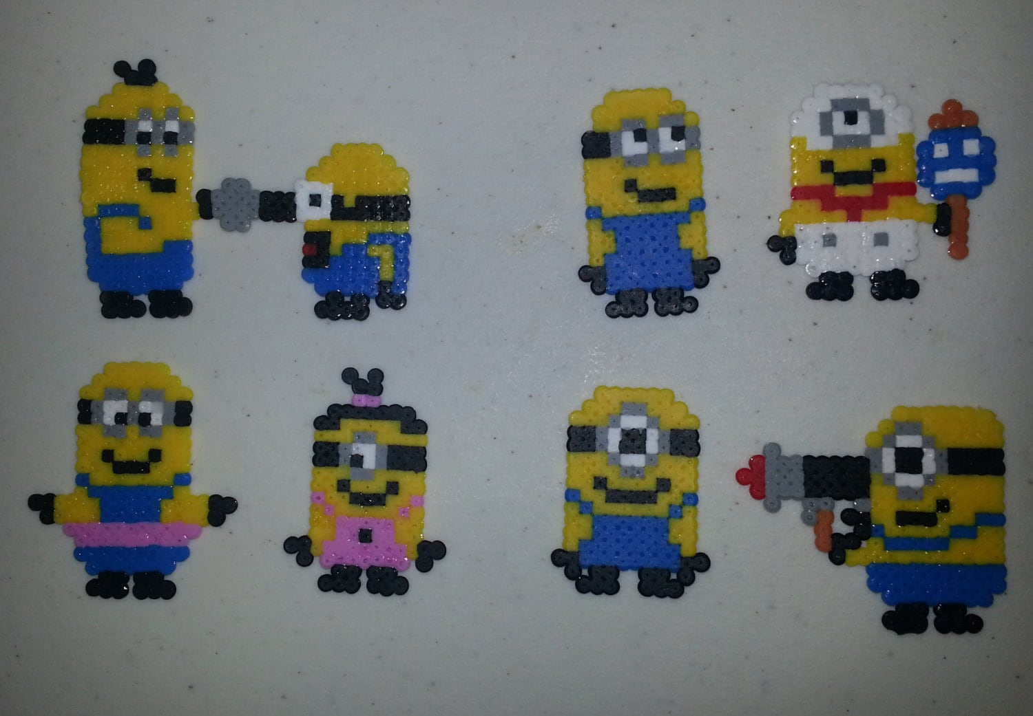 small minion bead sprites for tien only please