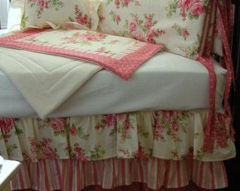 Three Tiered Shabby Chic Crib Set