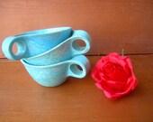 Vintage cups atomic
