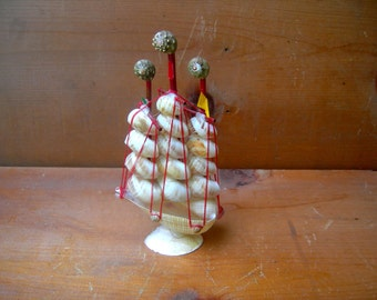 Vintage shell boat ship