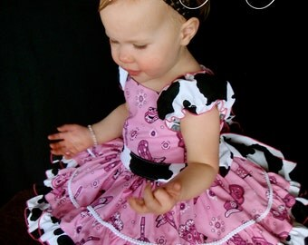 Parley Ray Pink Cowgirl Dress for Pageants and Birthday's