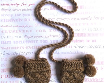 Crochet Baby Mittens, Newborn Mittens, Baby  Mittens, Baby Mitts, Baby Thumbless Mittens