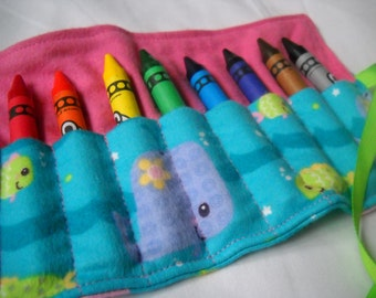 Under the Sea Crayon Roll Up