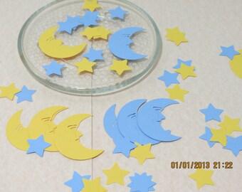 """2"""" Moon & Stars Die Cuts/Embellishments"""