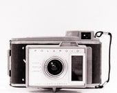 Vintage Camera Polaroid Camera Retro Decor Minimalist Geekery Gift Modern Decor, 8 x 8 Fine Art Print - ShadetreePhotography