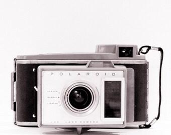 Vintage Camera Photograph Retro Decor Minimalist Geekery Gift Modern Decor Photographer, Fine Art Print