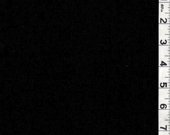 "54"" Black Cotton Gauze Fabric-15 Yards Wholesale by the bolt"