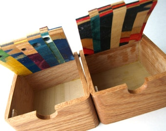 Skateboard Box - Wooden Box - Made in Canada {2}
