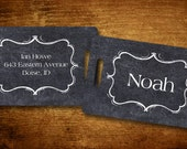Chalk Board Personalized Bag/Luggage Tag