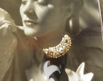 Vintage Juliana Rhinestone Brooch, Pin