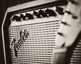 Fender Guitar Amplifier Photo