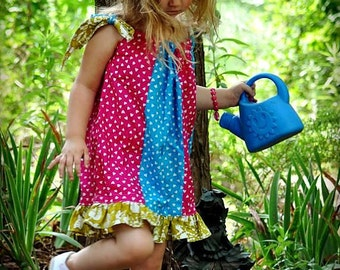 Pillowcase Dress Pattern , Baby Dress Pattern, Toddler Dress Pattern, Newborn Dress Pattern,INSTANT DOWNLOAD