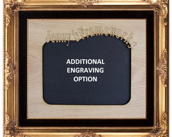 ADDITIONAL ENGRAVING option only
