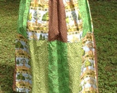 Happy Planet Patchwork Skirt