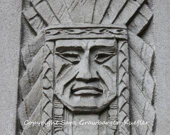 """Stone Chief - Fine Art Photograph - 8 x 12"""""""