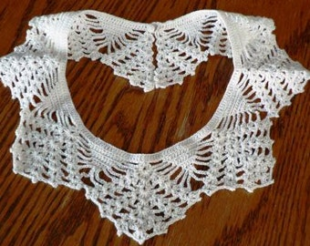 vintage accessories ... VINTAGE CROCHET COLLAR sweet  ...