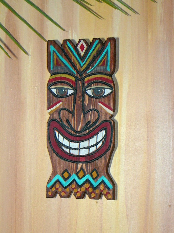 Tiki Wooden Wall Decor
