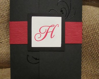 Baseball/Sport Themed Wedding Invites