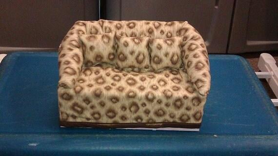leopard print decorative kleenex box couch by cmsportscrafts