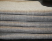 queen sheet set pure Linen flax White or Natural or Grey color Medium weight - custom size